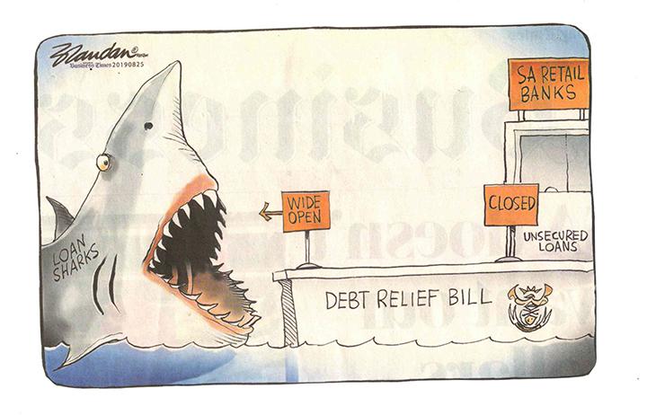 debt intervention bill